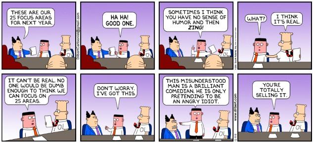 Dilbert - The Pretender