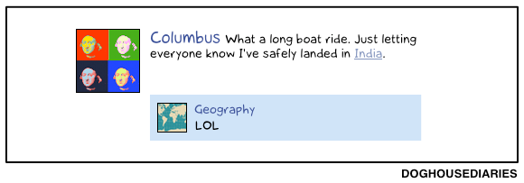 Doghouse Diaries - Geography Fail