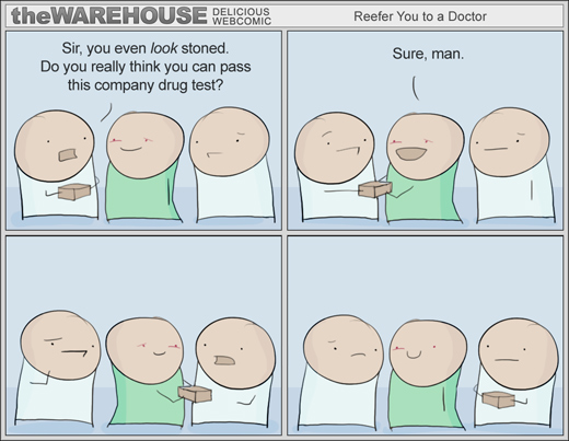 The Warehouse - Could you please pass this drug test