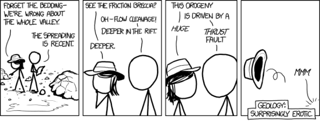 XKCD - Geology