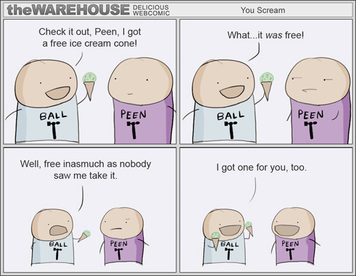 The Warehouse - Free as in ice-cream