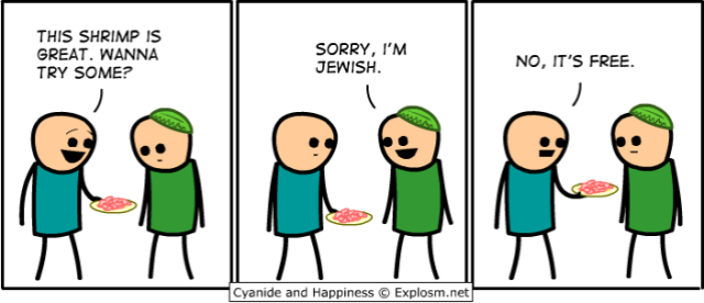 Cyanide and Happiness - Free food